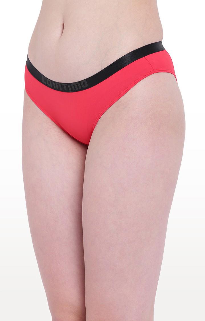 La Intimo   Red Aqua Pop Bikini Panty