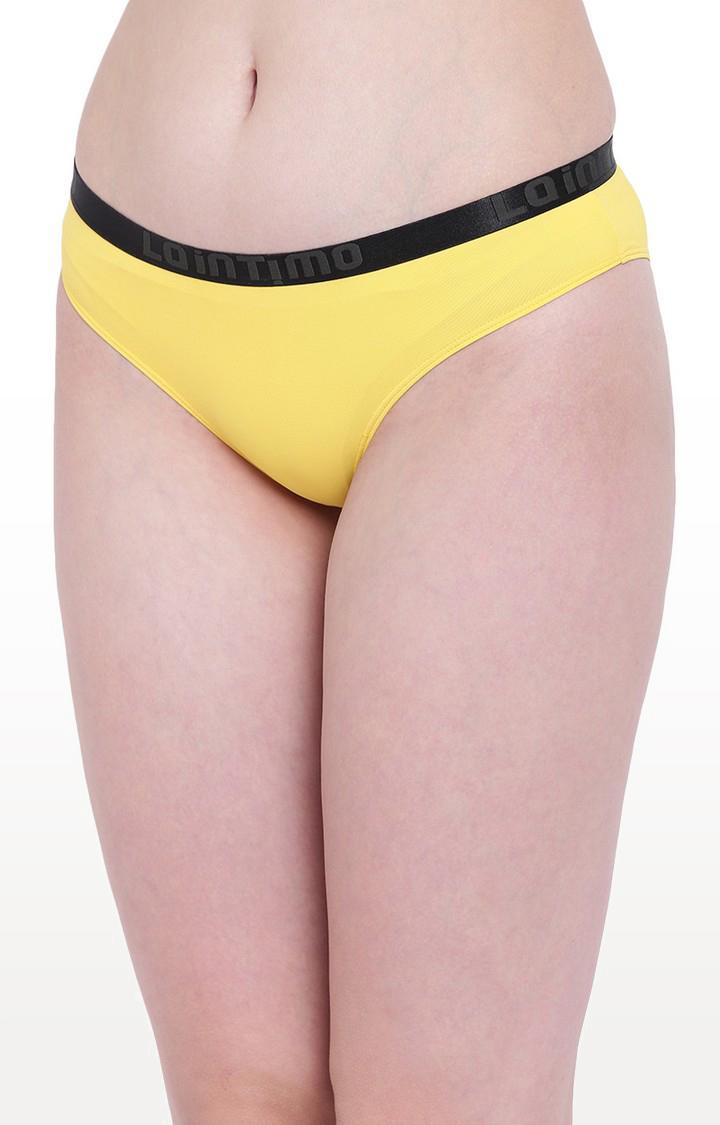 La Intimo | Yellow Aqua Pop Bikini Panty