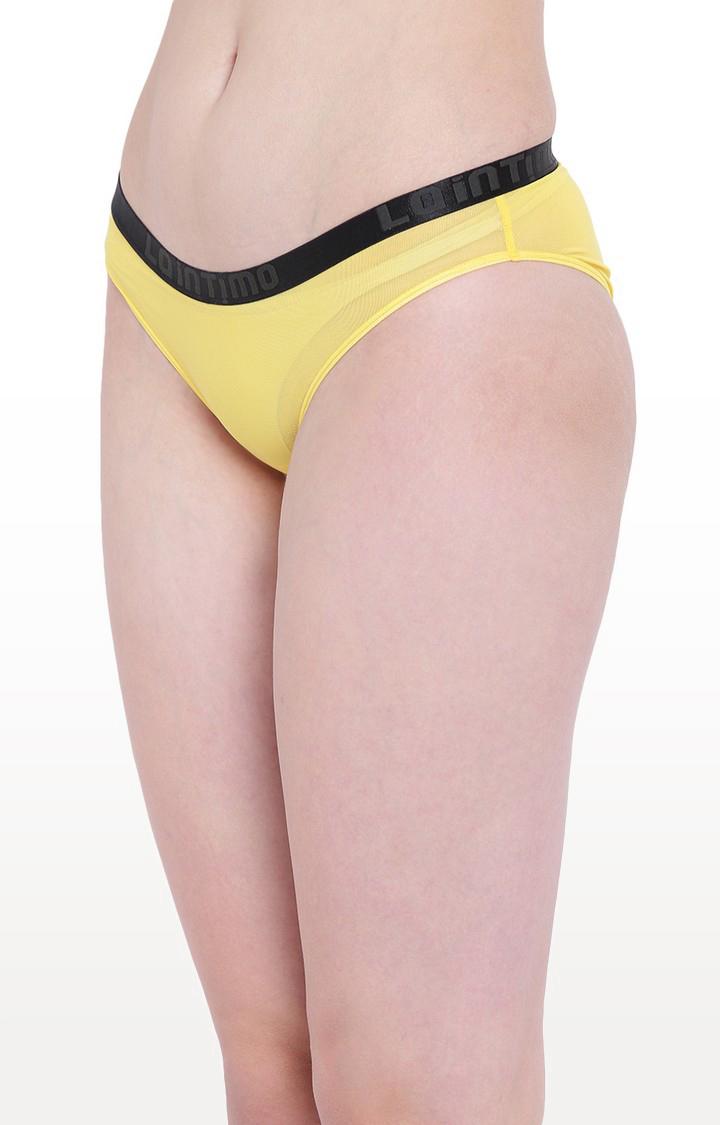 La Intimo   Yellow Aqua Show Bikini Panty