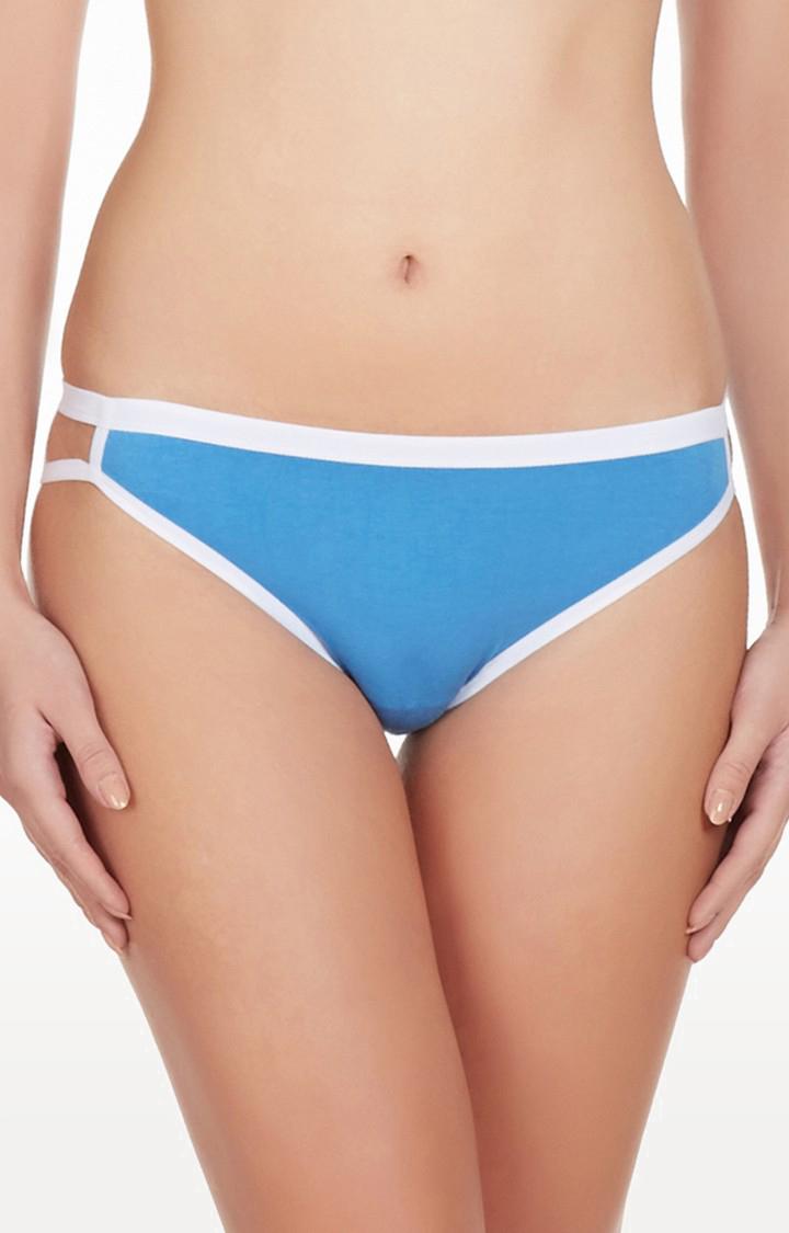 La Intimo | Blue Good Girl Go Naughty Bikini Panty