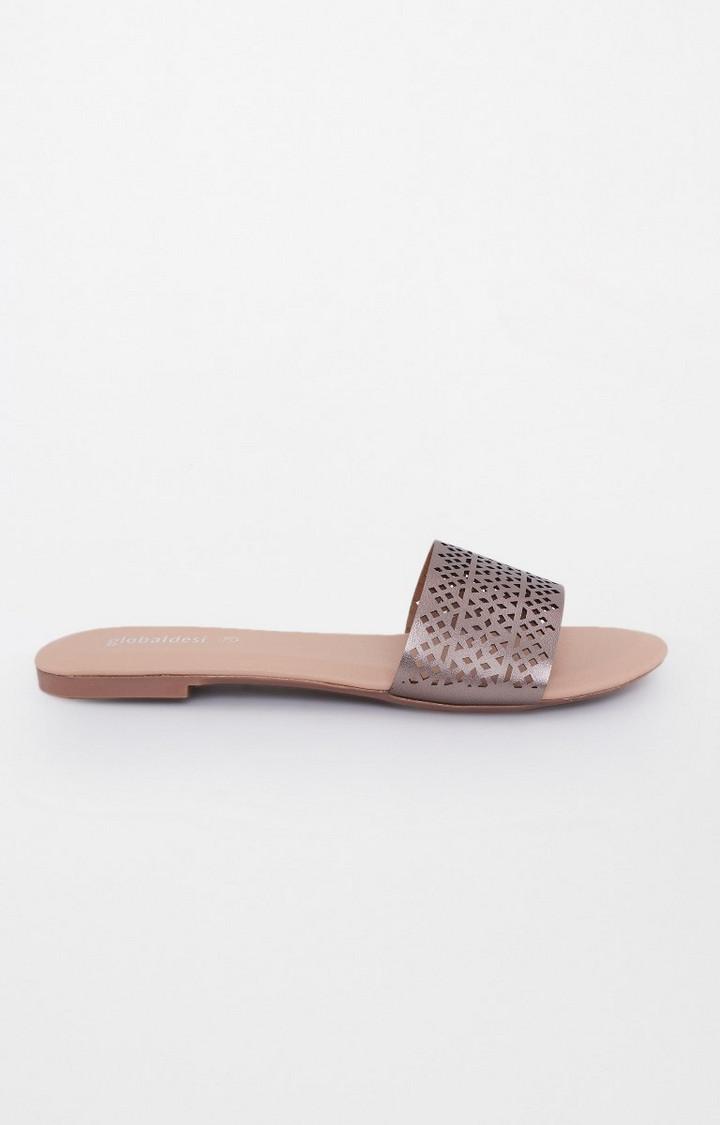 Global Desi | Bronze Slip-ons
