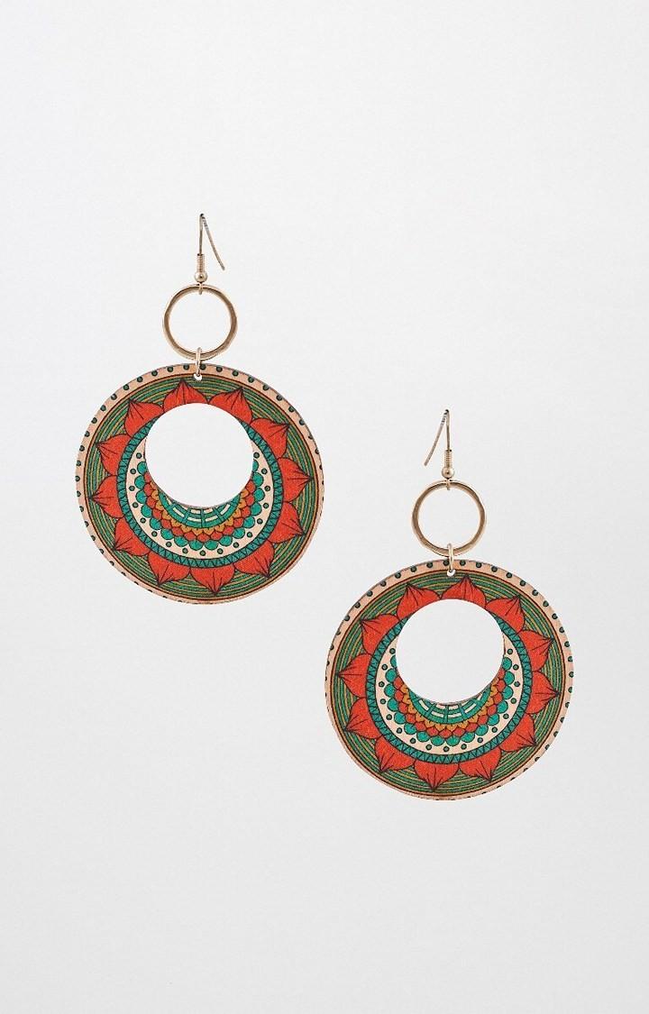 Global Desi   Multicoloured Dangle and Drop Earrings