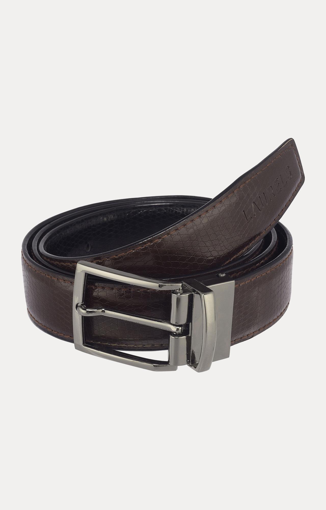 Laurels | Black and Brown Reversible Belt