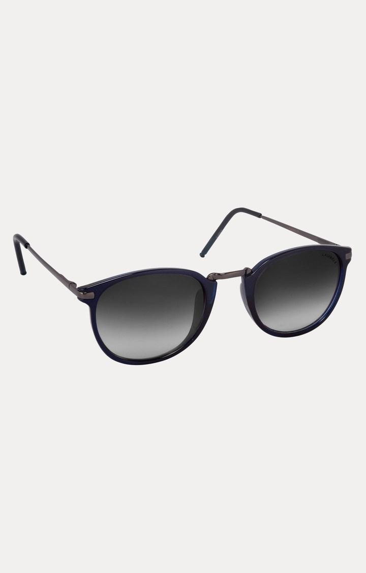 Laurels   Blue Oval Sunglasses