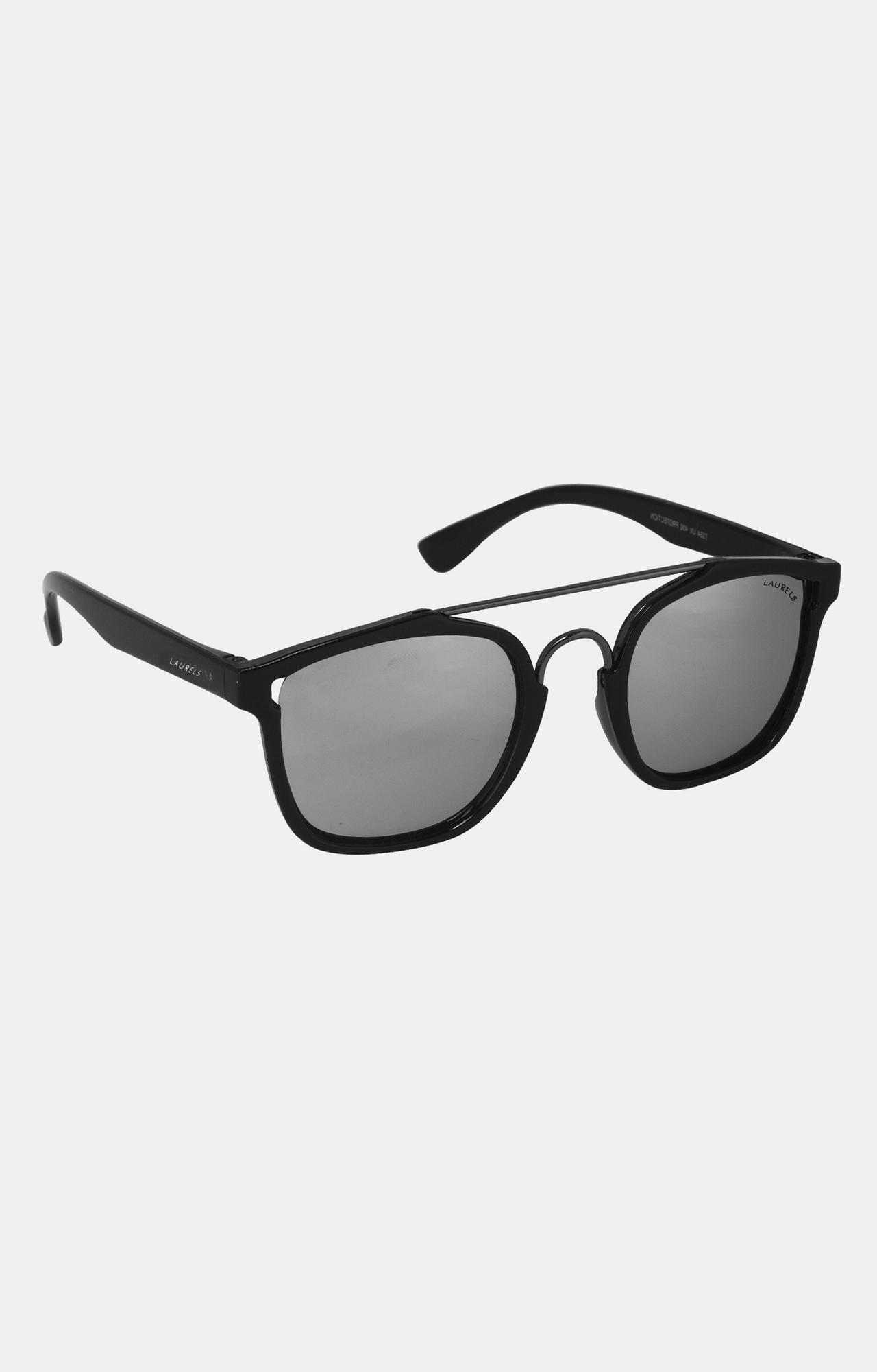 Laurels | Black Square Sunglasses