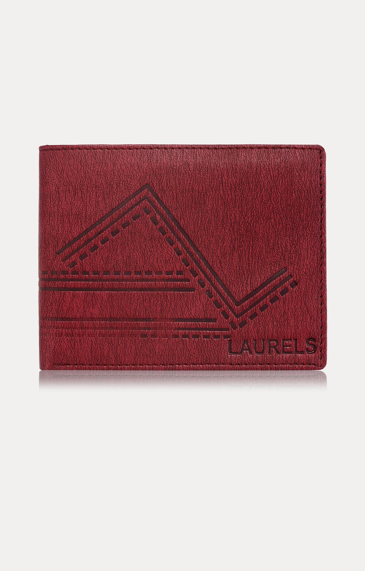 Laurels   Red Wallet