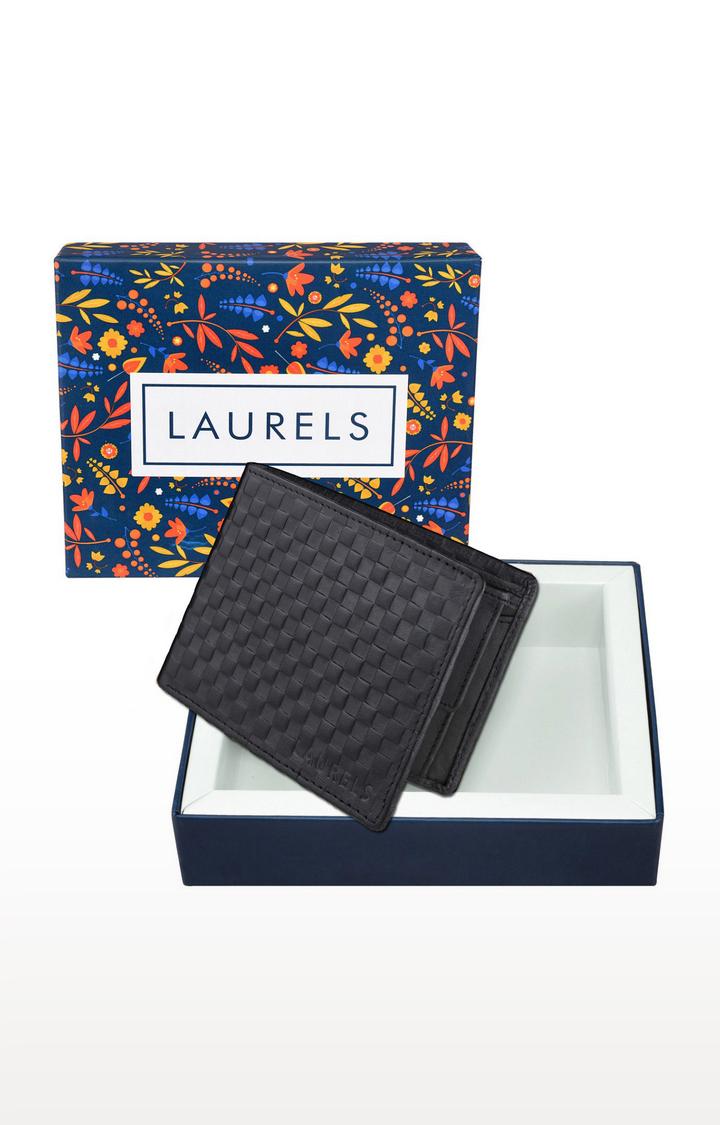 Laurels   Black Wallet