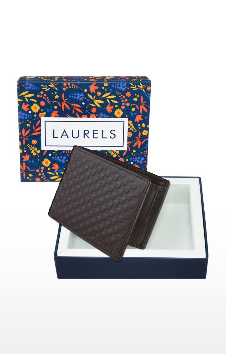 Laurels | Brown Wallet