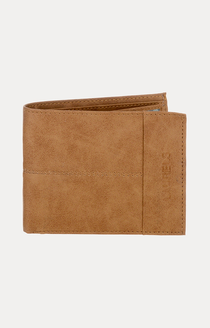 Laurels   Tan Wallet