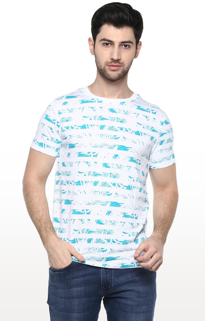 RED CHIEF | White Printed T-Shirt