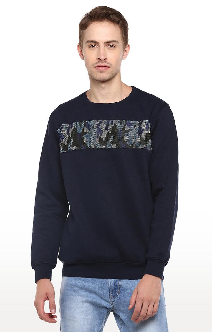 RED CHIEF | Blue Camouflage Sweatshirt