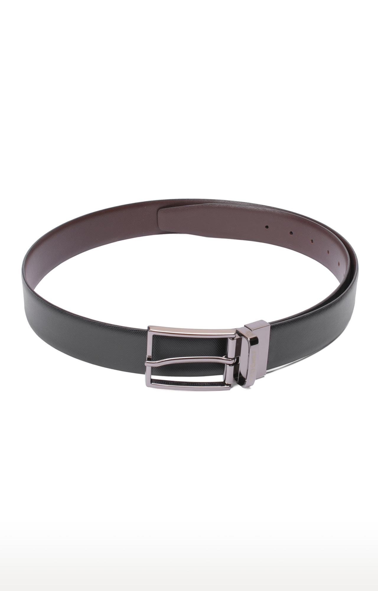 RED CHIEF   Black Reversible Belt