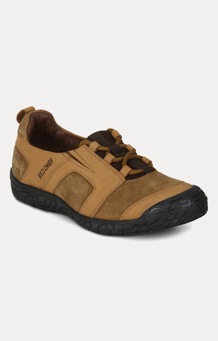 RED CHIEF | RC3480022 - Tan Casual Lace-ups