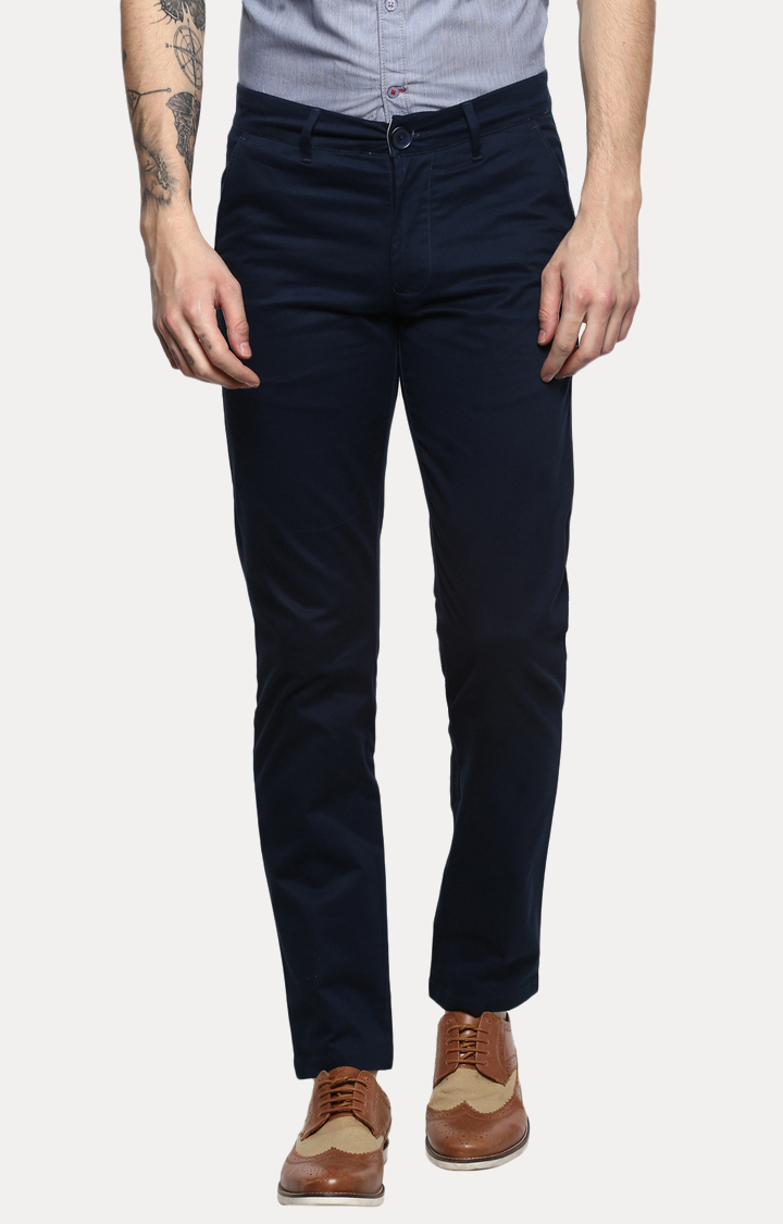 RED CHIEF | Blue Straight Chinos