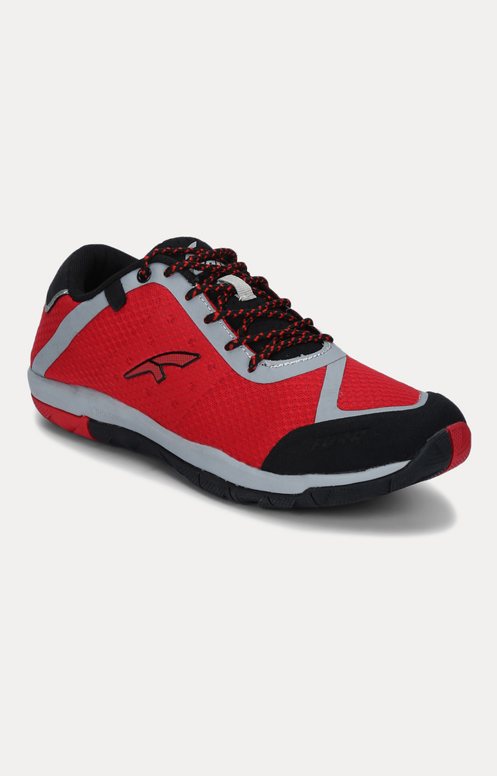 Furo   Red & Black Outdoor Sports Shoes