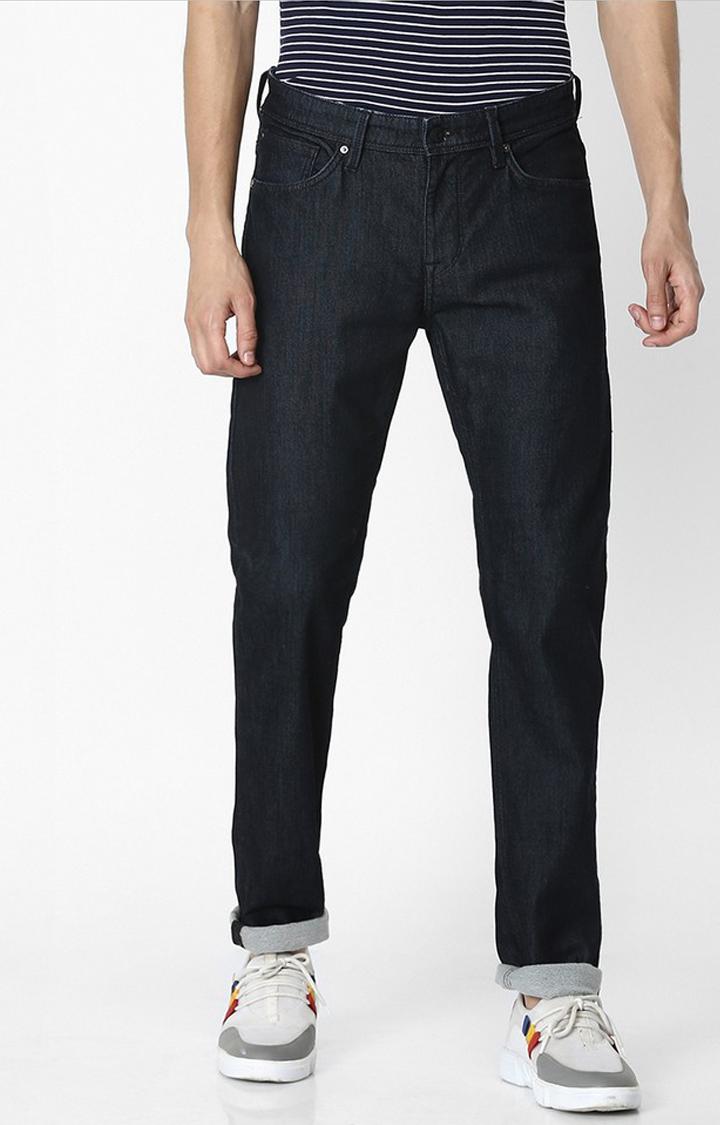 celio | Indigo Solid Water Repellent Slim Fit Denim Jeans