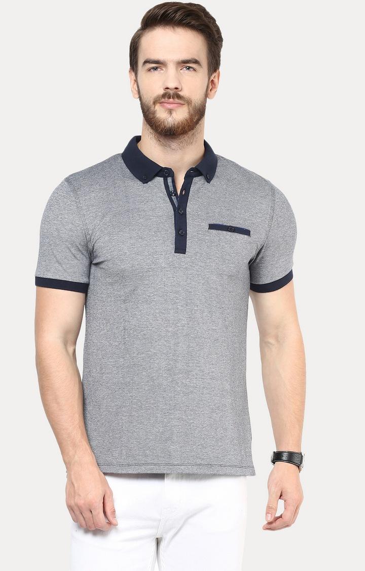 celio   Grey Melange T-Shirt
