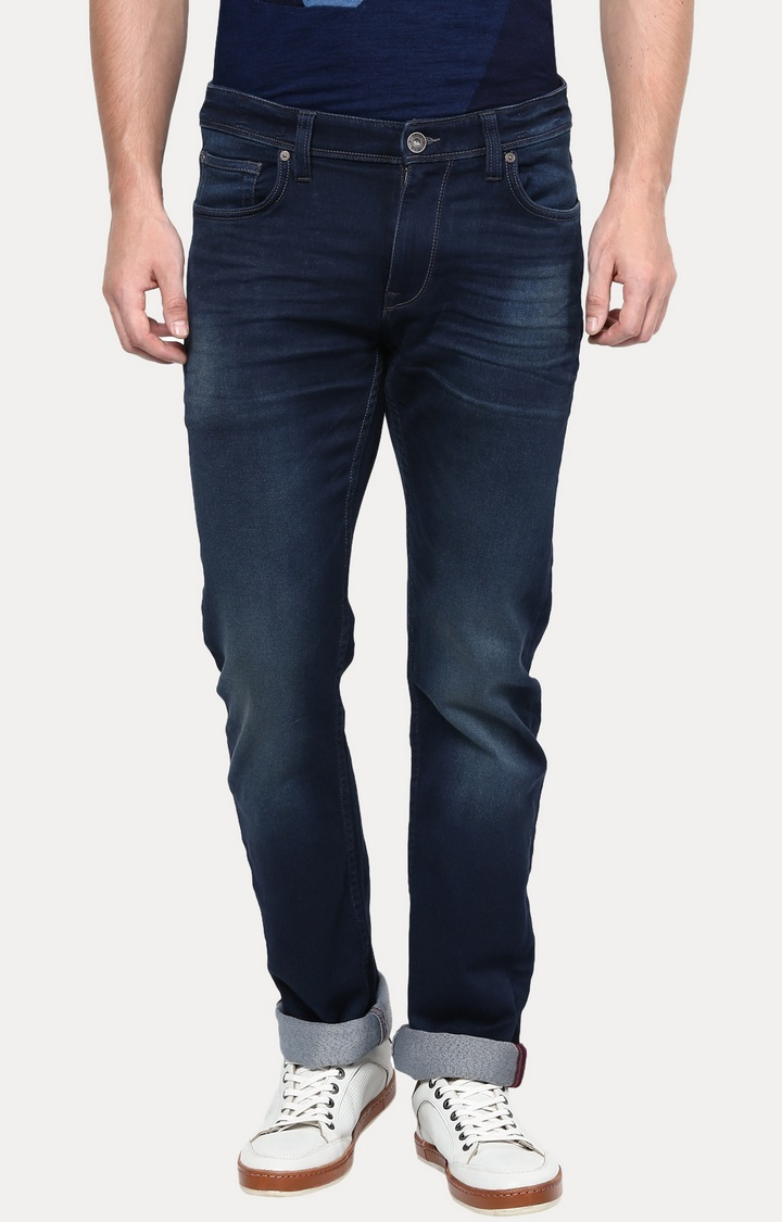 celio   Blue Straight Fit Jeans
