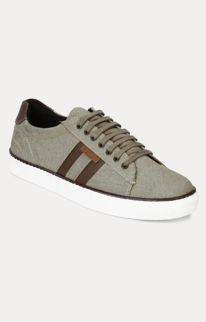 celio   Light Olive Sneakers