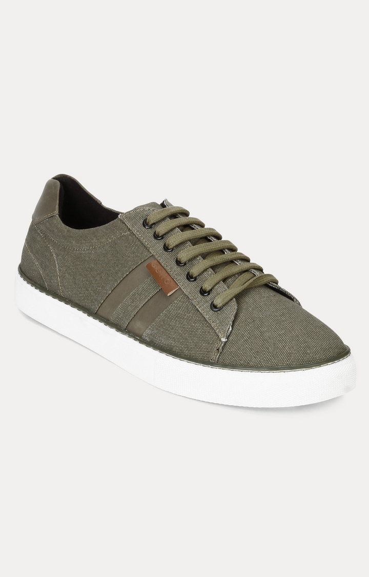 celio   Olive Sneakers