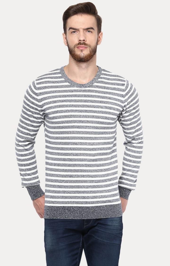 celio   Navy Blue Sweater