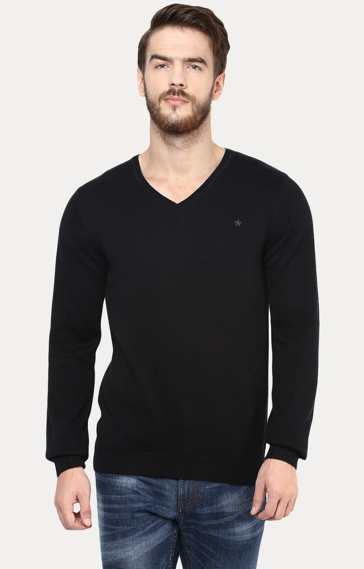 celio   Black Sweater