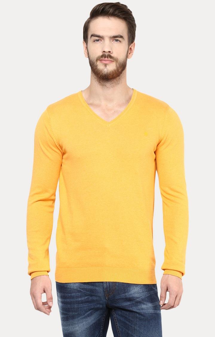 celio   Yellow Sweater