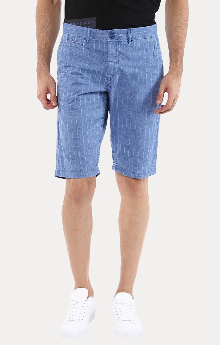 celio | Goherring Indigo Melange Shorts