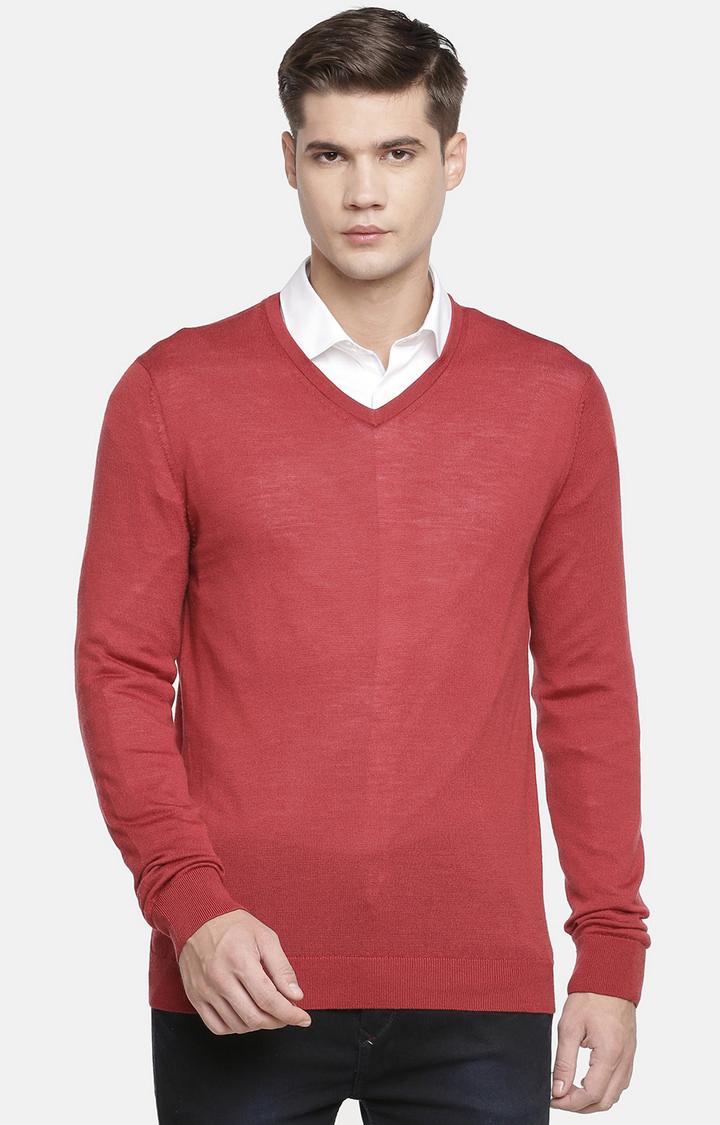 celio | Dark Blue Solid Sweater