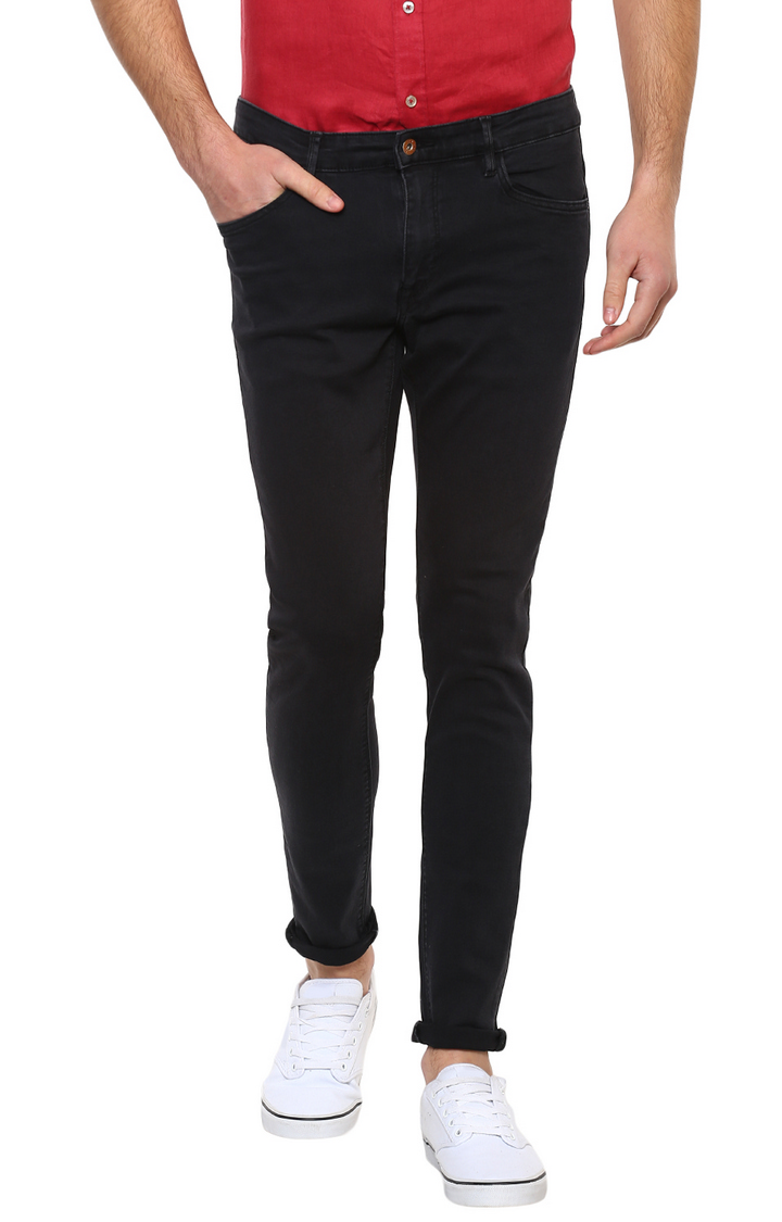 celio | Black Solid Skinny Fit Jeans