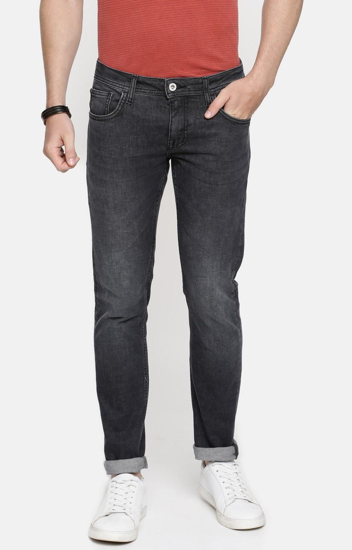 celio   Grey Solid Skinny Fit Jeans