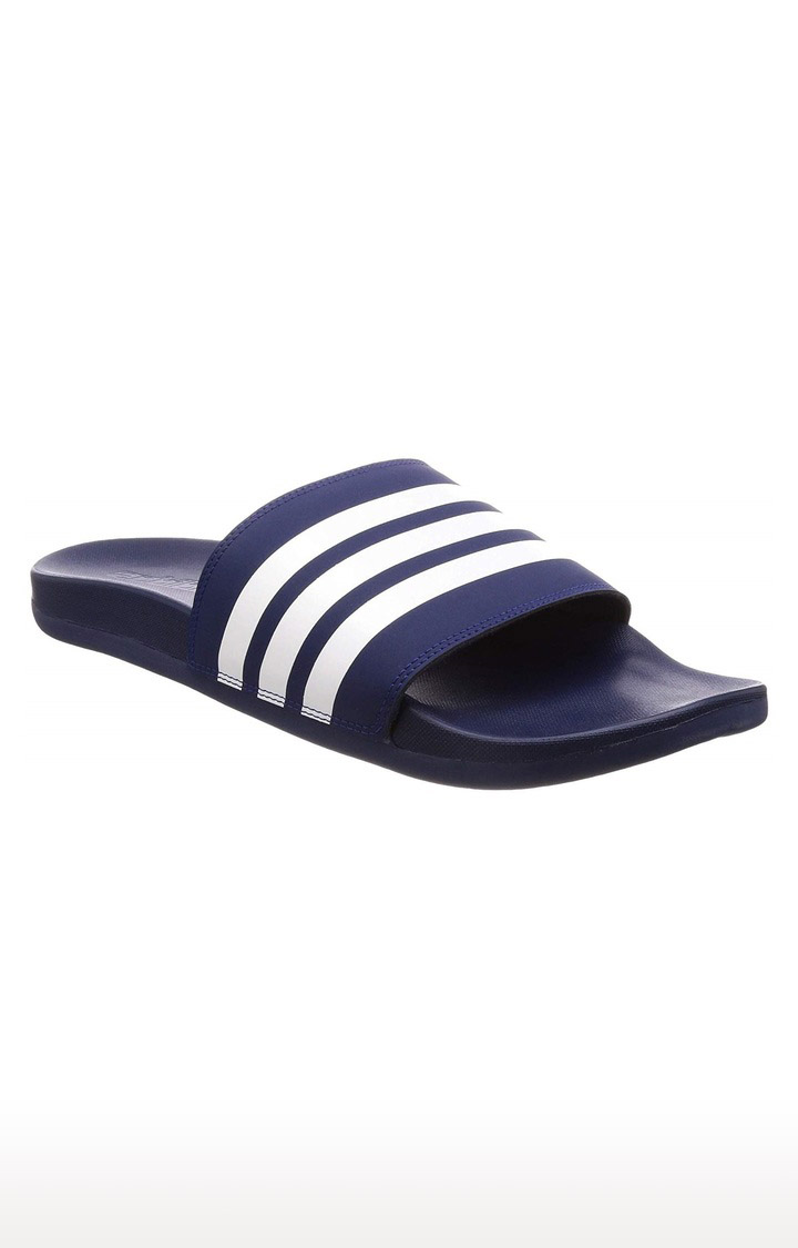adidas | Navy Slippers