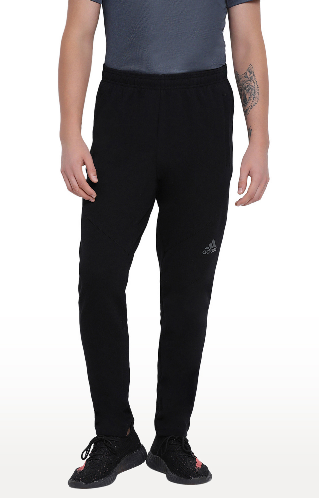 adidas | Black Trackpants