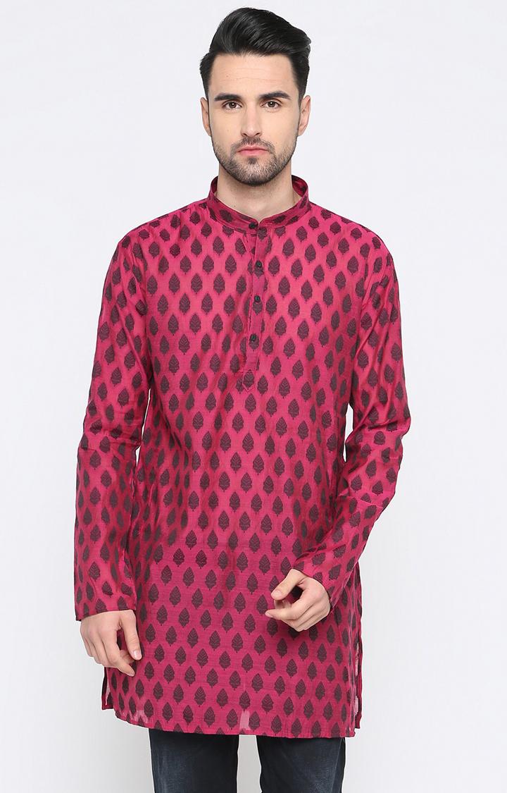 Showoff | Pink Printed Kurta