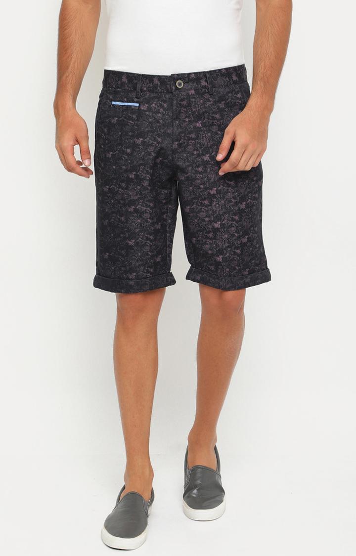 Showoff   Brown Printed Shorts