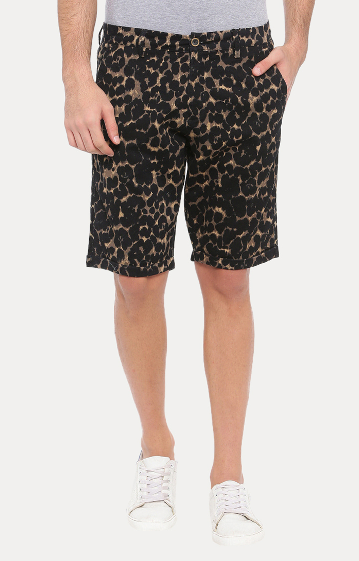 With   Black Camouflage Shorts
