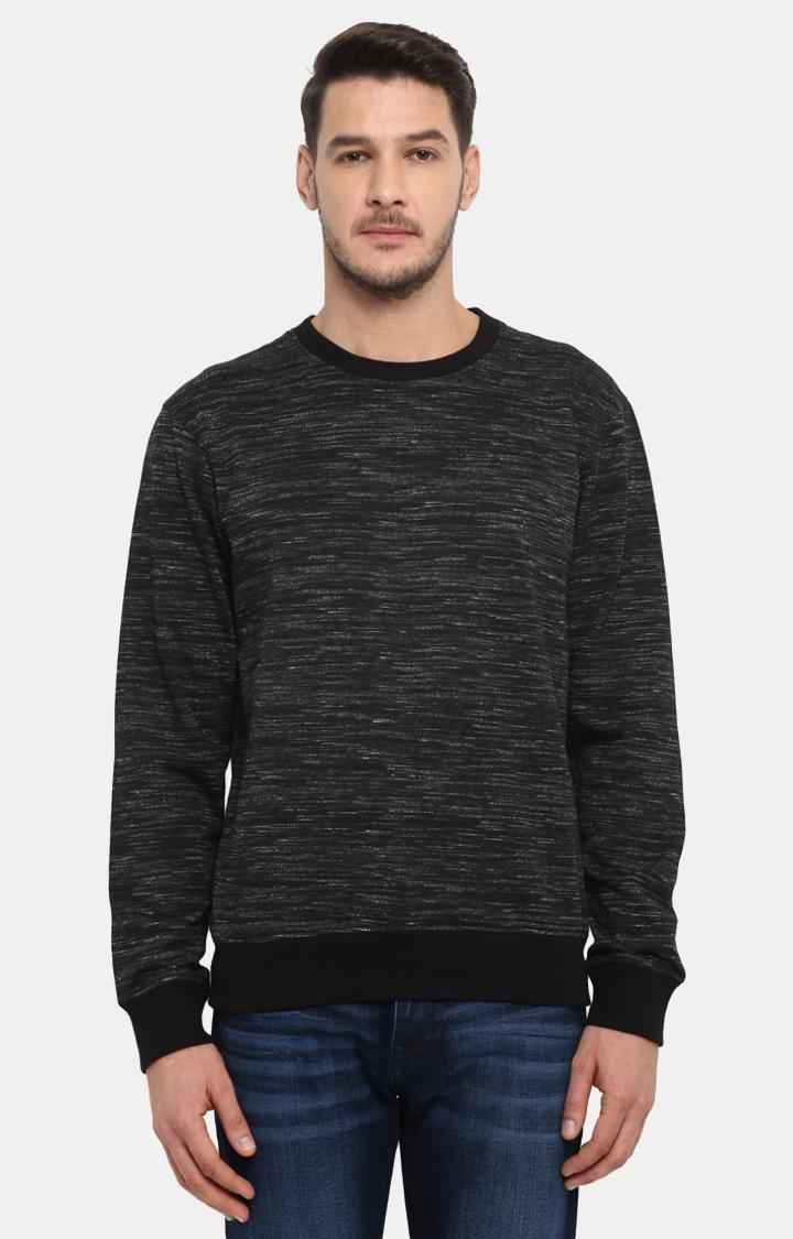 ColorPlus | Black Melange Sweatshirt