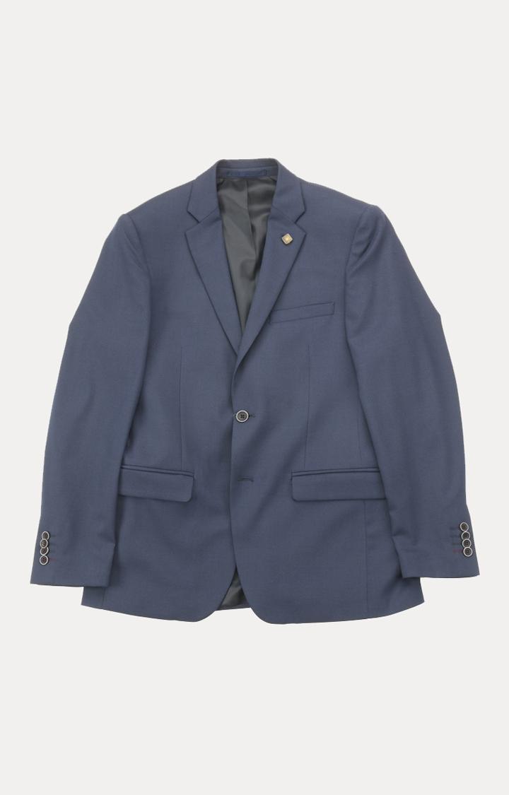 ColorPlus | Dark Blue Solid Blazer