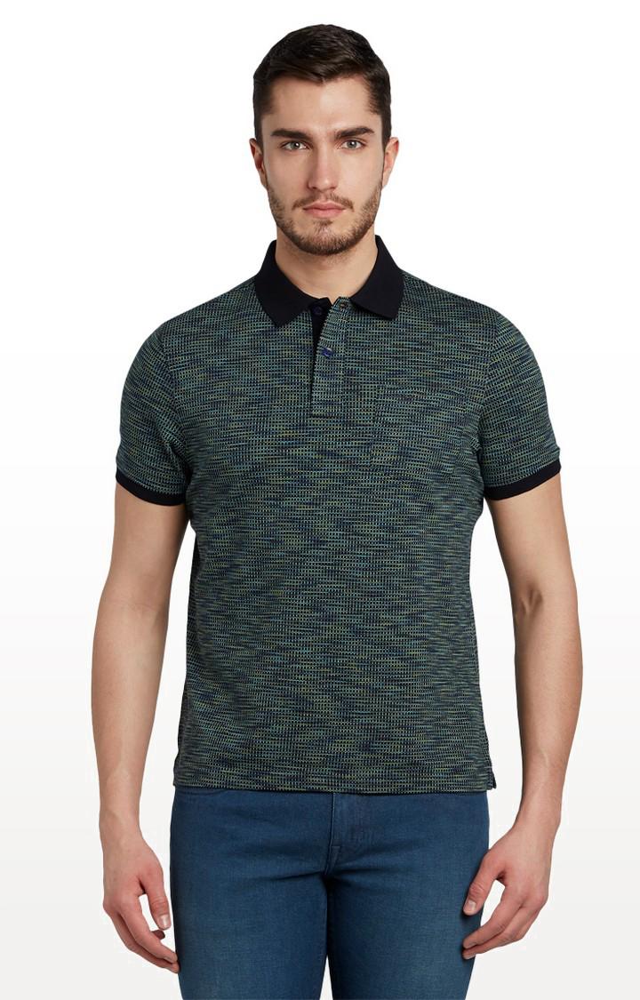 ColorPlus | Green Melange T-Shirt