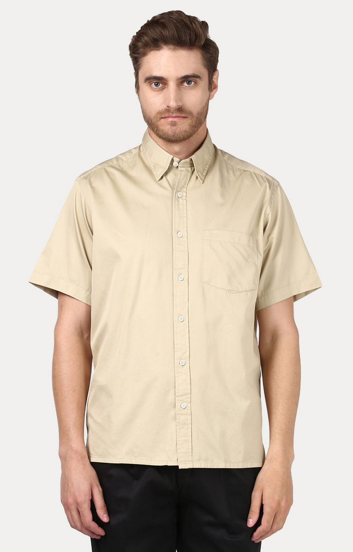 ColorPlus   ColorPlus Beige Shirt