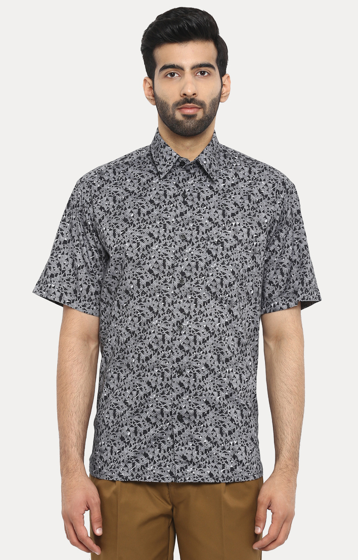 ColorPlus | ColorPlus Black Formal Shirt