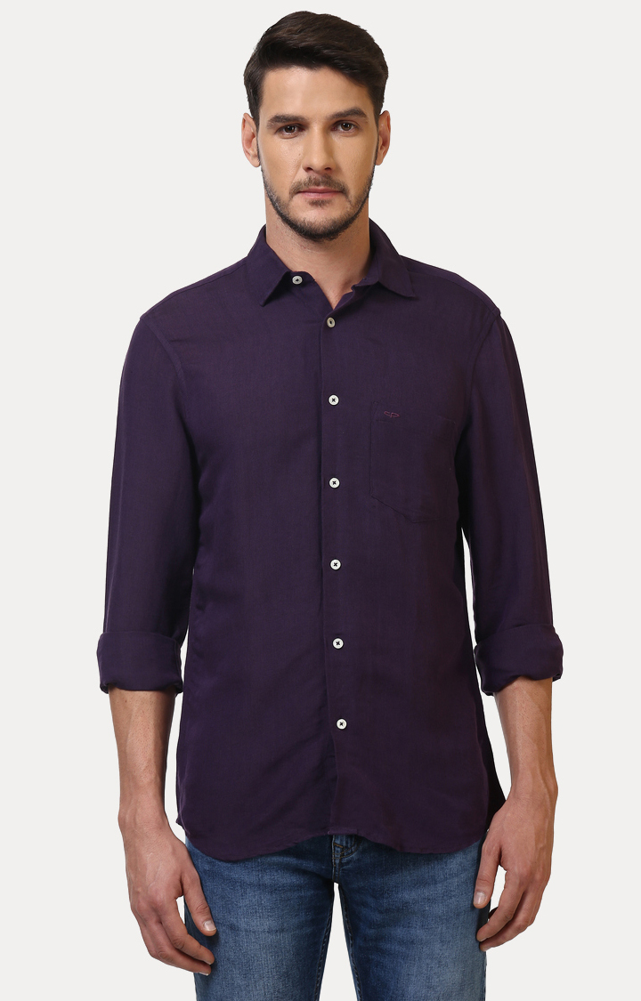 ColorPlus   ColorPlus Purple Shirt