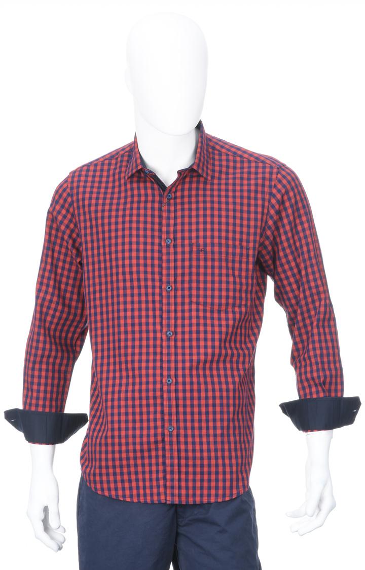 ColorPlus | ColorPlus Dark Orange Formal Shirt