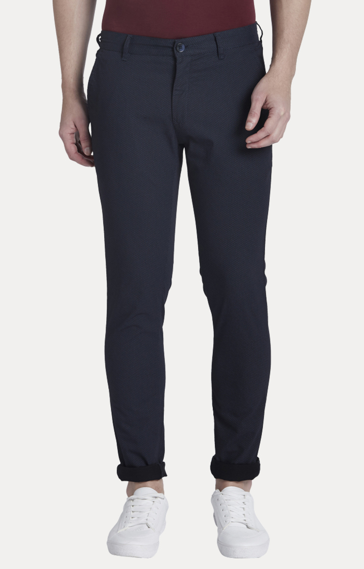 ColorPlus | Navy Tapered Chinos
