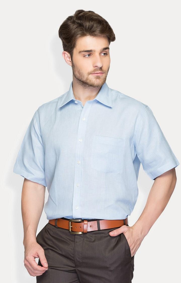 ColorPlus   ColorPlus Blue Shirt