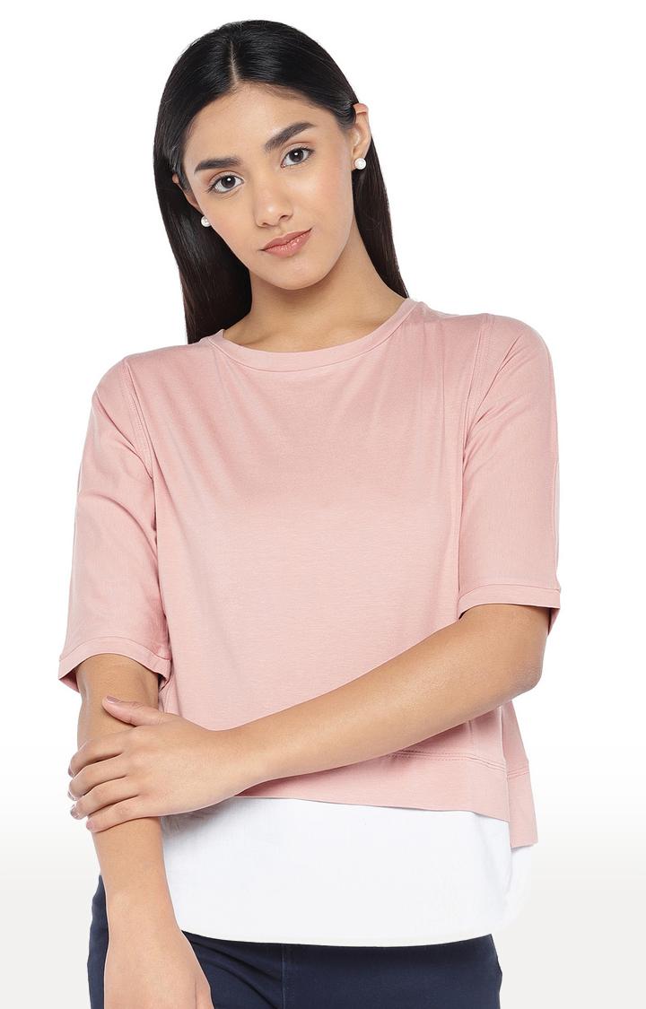 globus   Pink Solid Top