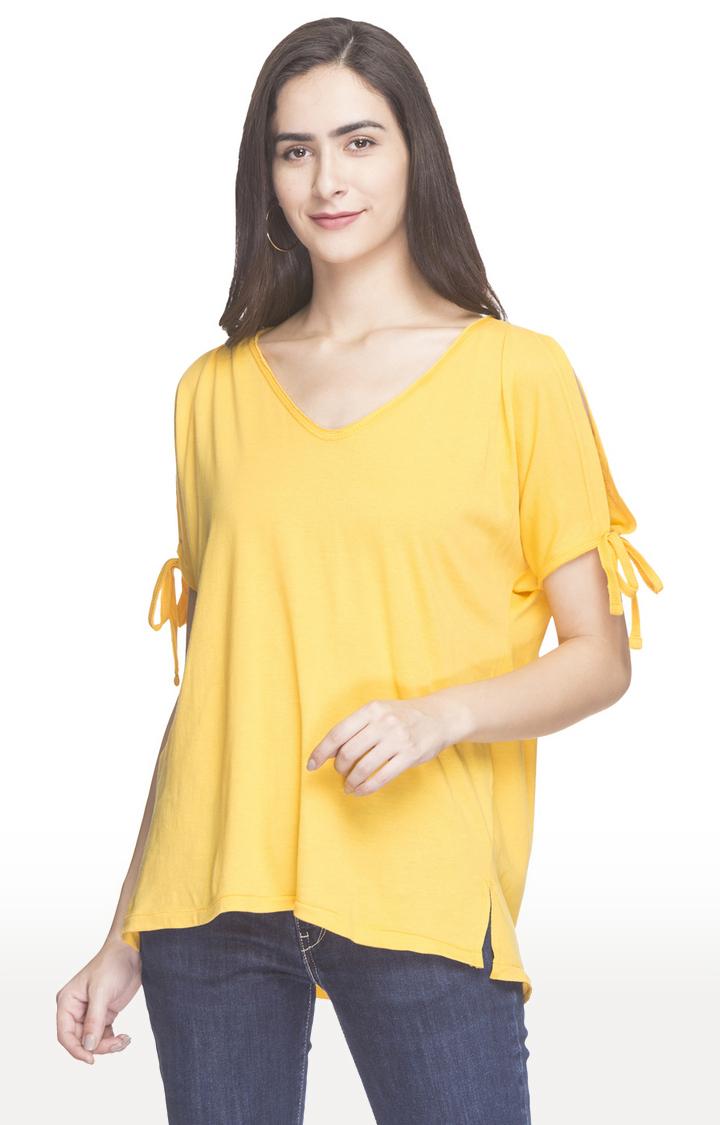 globus | Yellow Solid Top