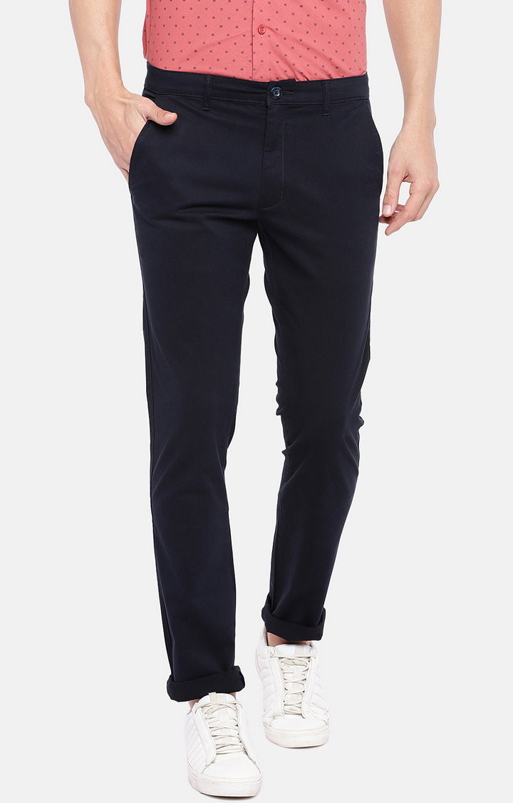 globus | Blue Straight Trousers
