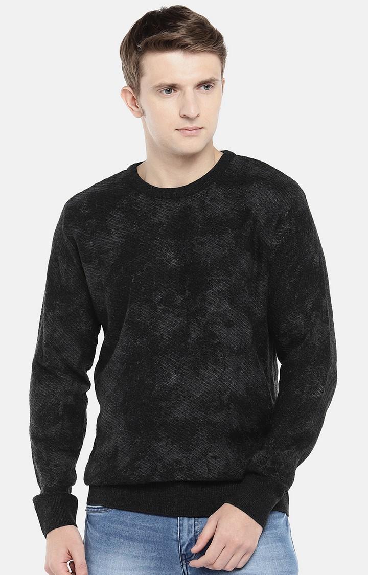 globus | Black Printed Sweatshirt