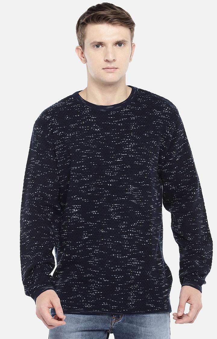 globus | Blue Printed Sweatshirt